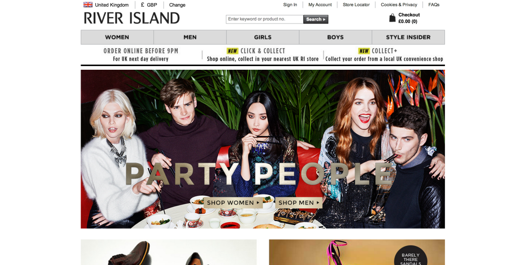 riverisland screen
