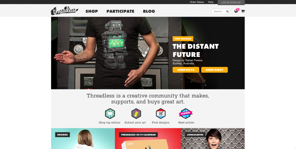 threadless screen